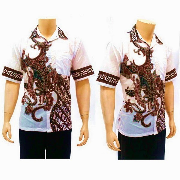 Kemeja Batik Motif Pola