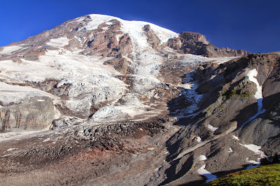 Nisqually-Wilson Glacier – The Muir Snowfield is to the Right of That