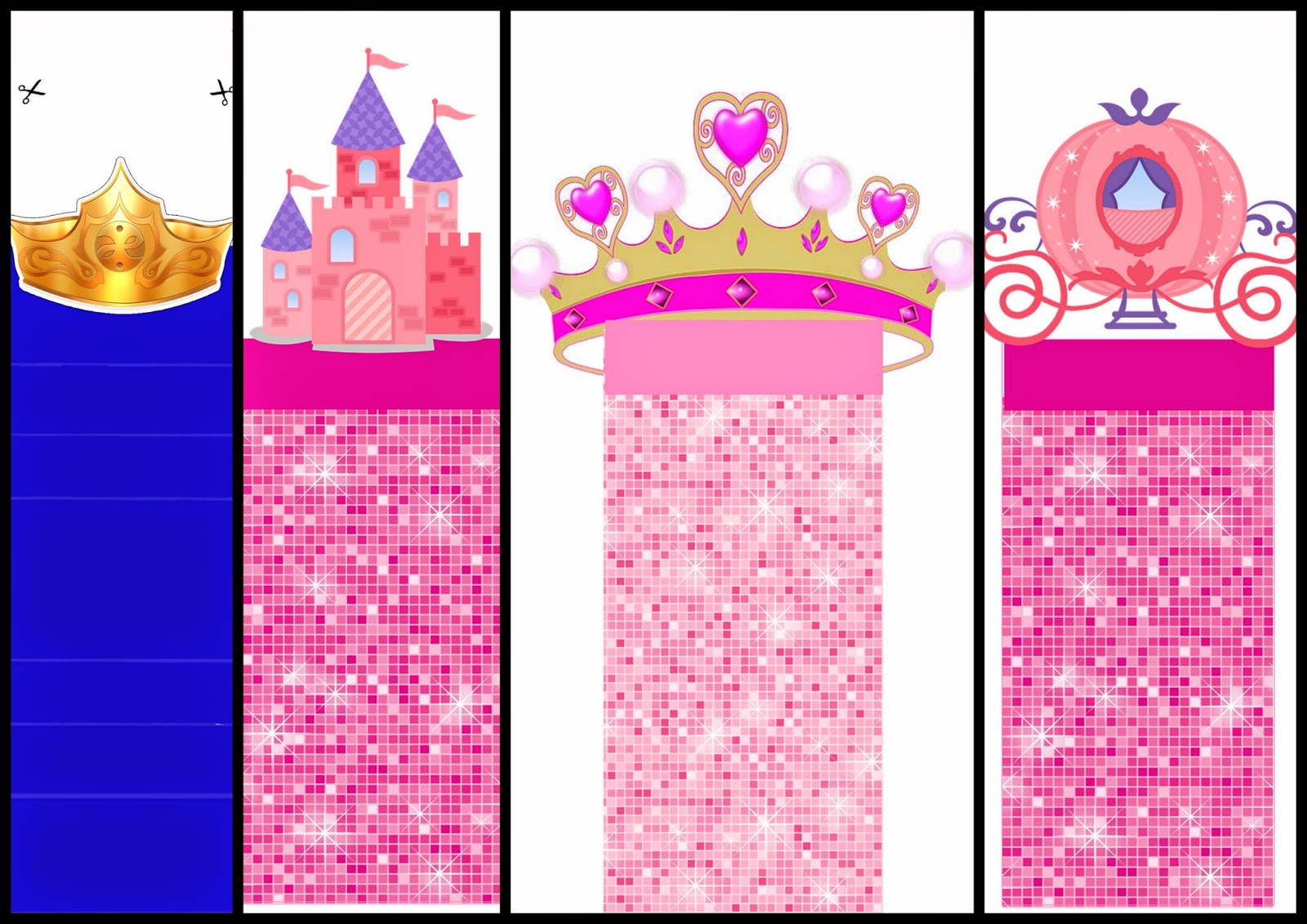 Princess: Free Printable Original Nuggets Wrappers.