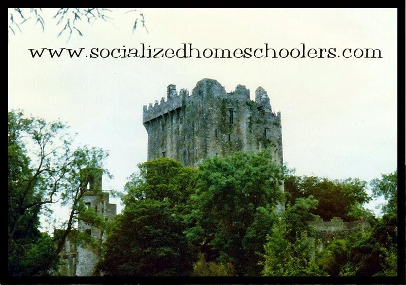 Socialized homeschoolers overseas field trip cork ireland for The blarney house plan