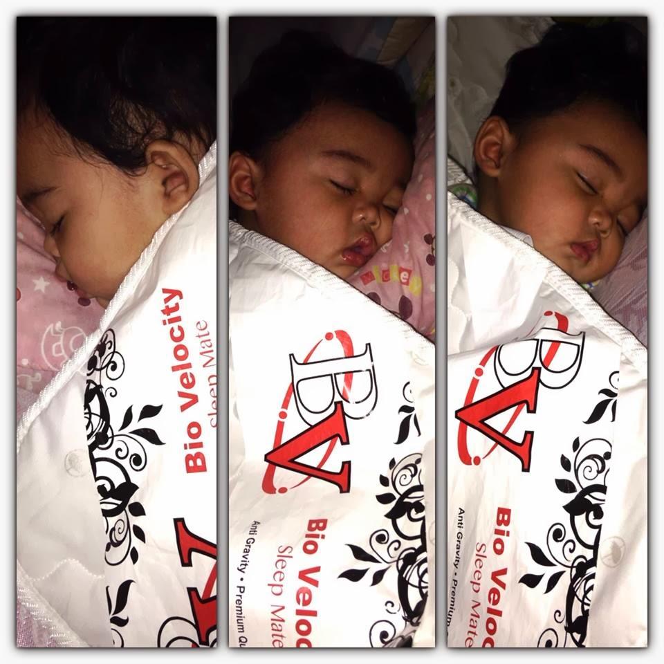 Muhammad Danish Shafiq Lena dengan Tilam kuat @ Bio Velocity Sleep mate
