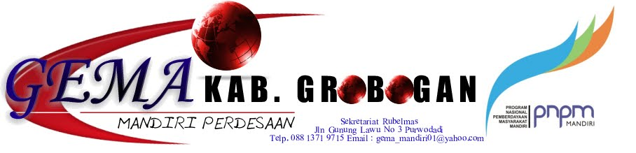 PNPM  KABUPATEN GROBOGAN MEDIA INTERNAL