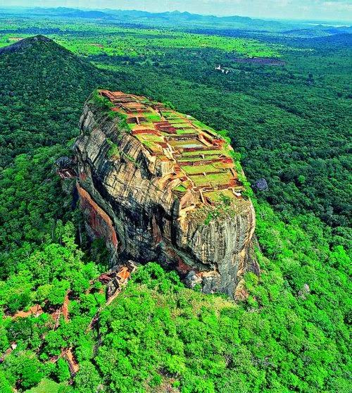 Sigiriya Rock ~ Sri Lanka