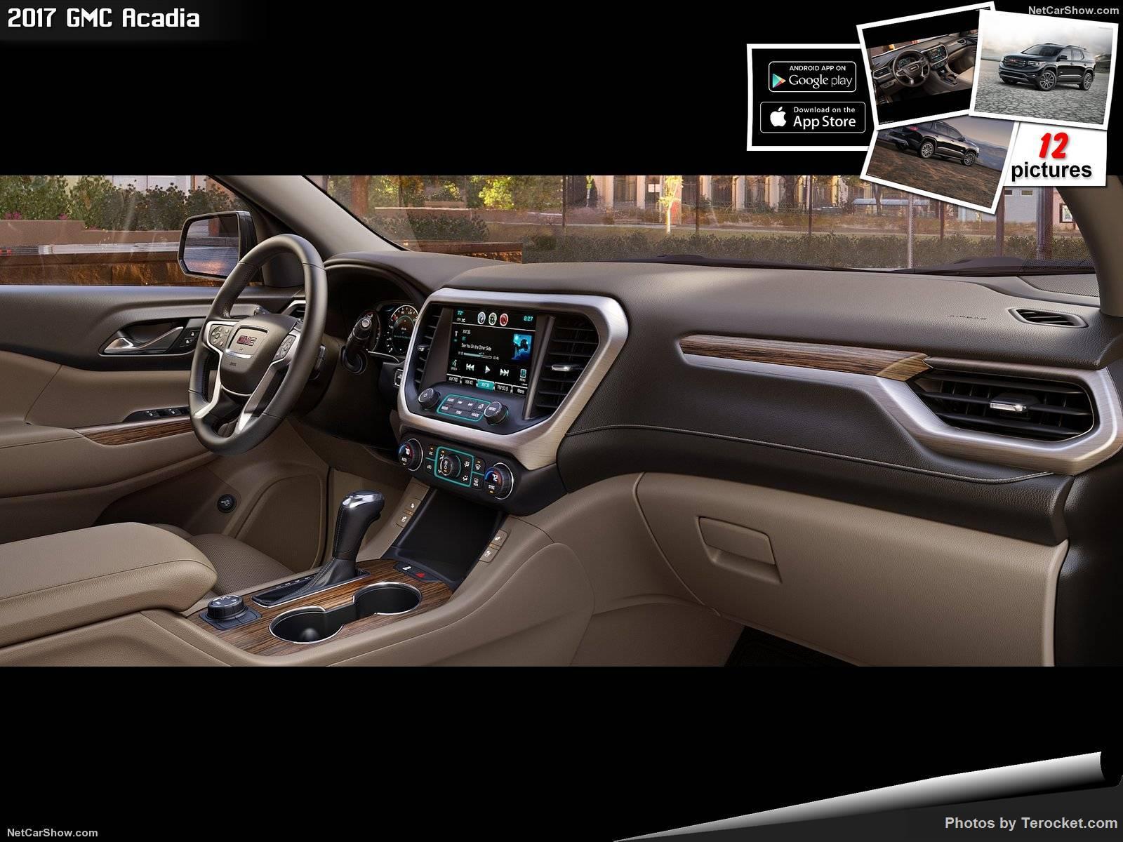 Hình ảnh xe ô tô GMC Acadia 2017 & nội ngoại thất