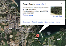 Map to Good Sports