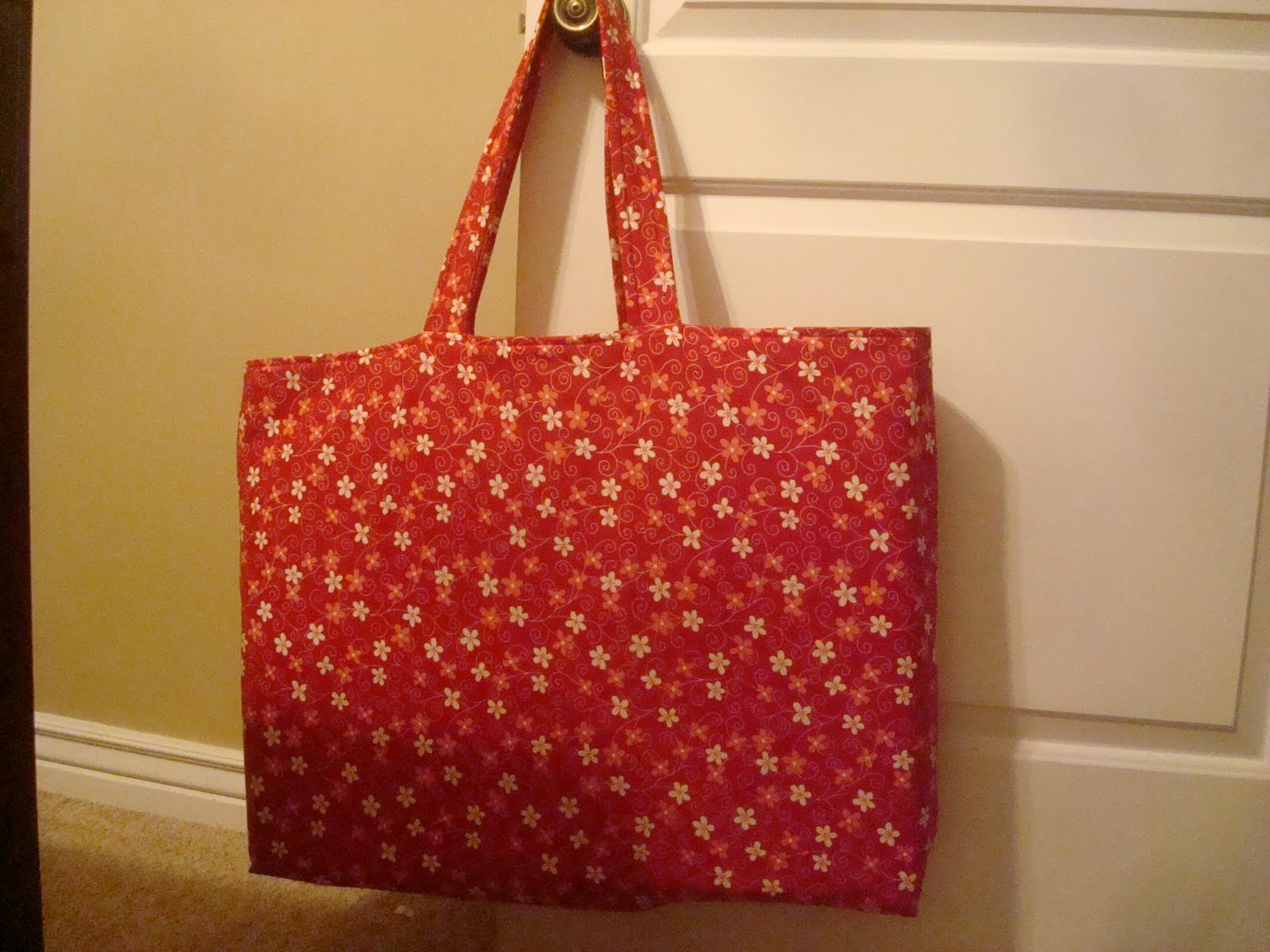 Because I Say Sew Tote For Cutting Mat