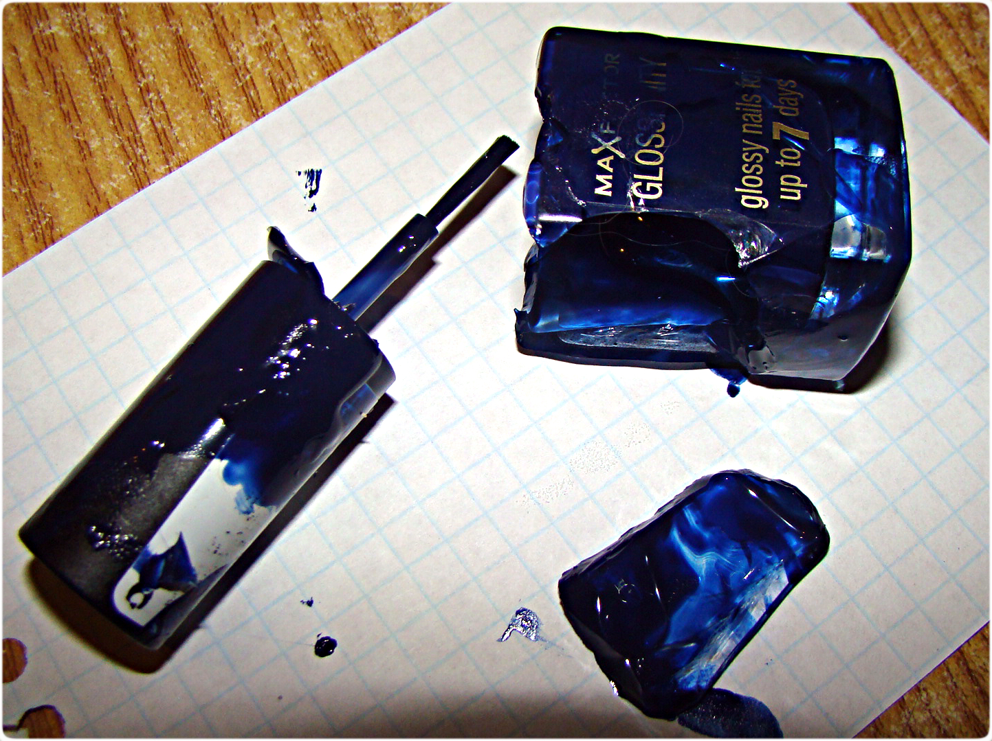Max Factor №135 Royal Blue