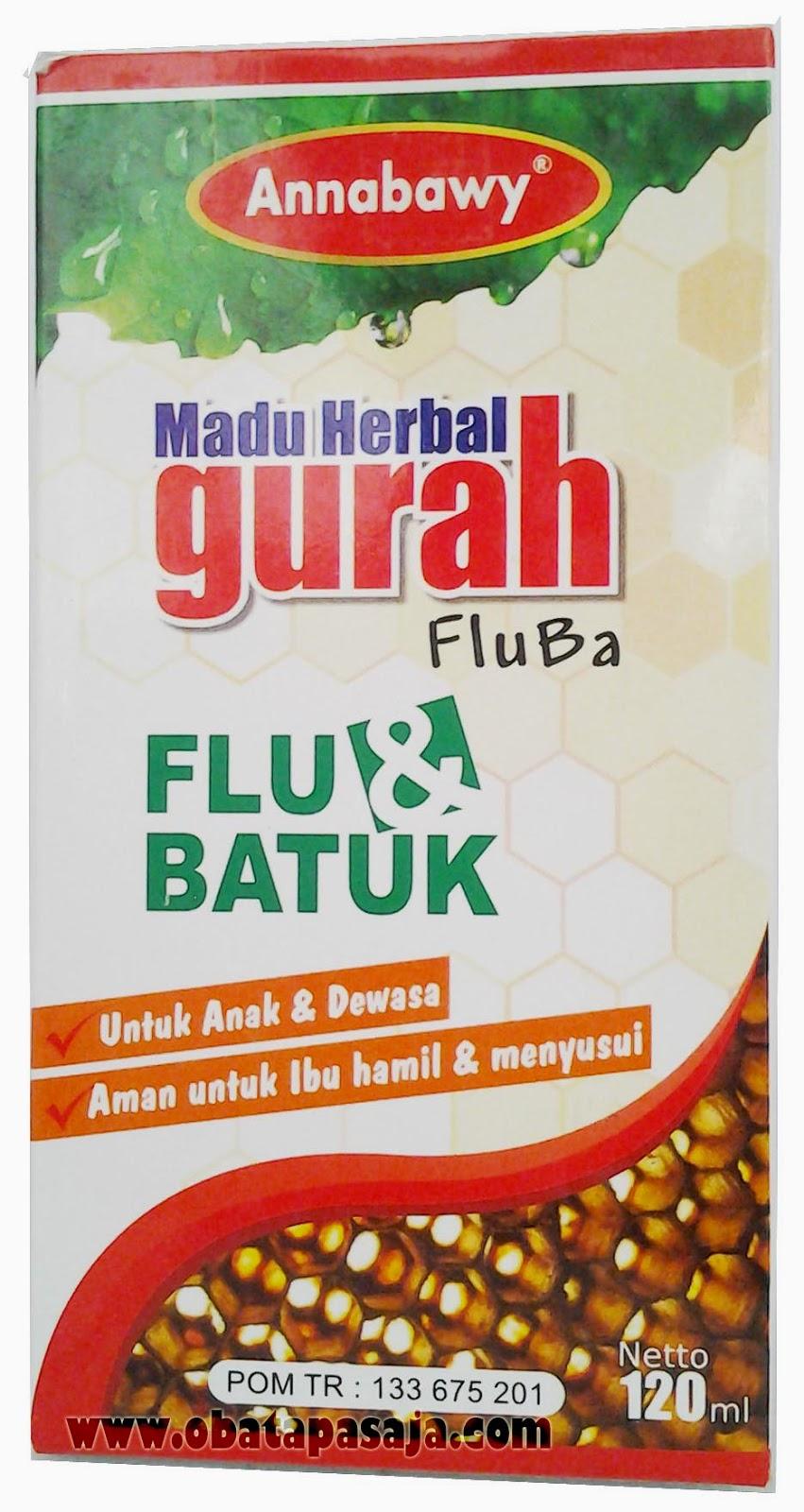 Khasiat Madu Herbal Gurah FluBa Annabawy