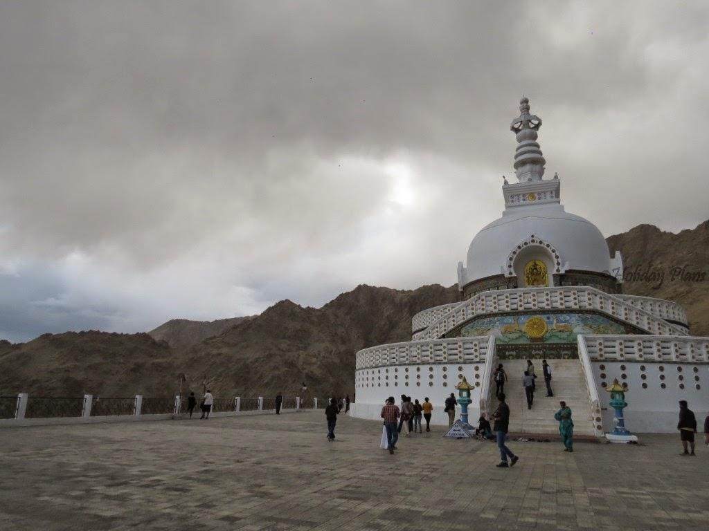 Thunderstorm at Shanti Stupa