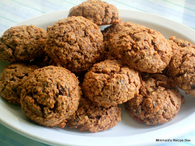 Oatmeal Raisin Cookie (Healthy Version)