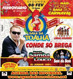 CLUBE FERROVIÁRIO DO RECIFE(AFOGADOS) - BAILE DA TOALHA.