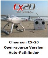 Cheerson CX-20 Pronto al Volo codice Open Source - Banggood Shop