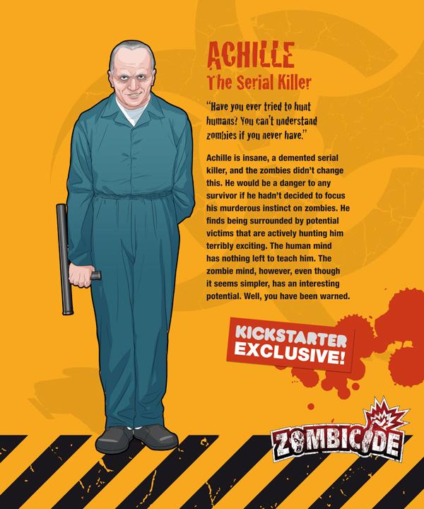 Zombicide personajes ACHILLE