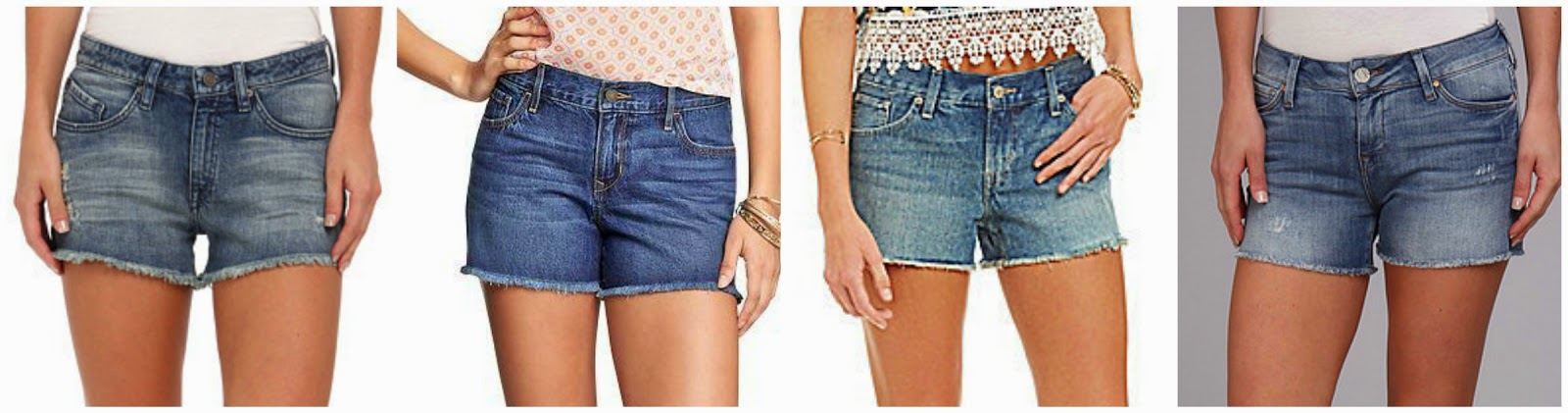 Volcom Stoned Cut Off Short $19.99 (regular $49.50)  Old Navy Denim Cut Off Shorts $22.00 (regular $22.94)  Levi's Cut Off Denim Shortie Short $29.99  Mavi Jeans Emily Cut Off Short $44.99 (regular $88.00)