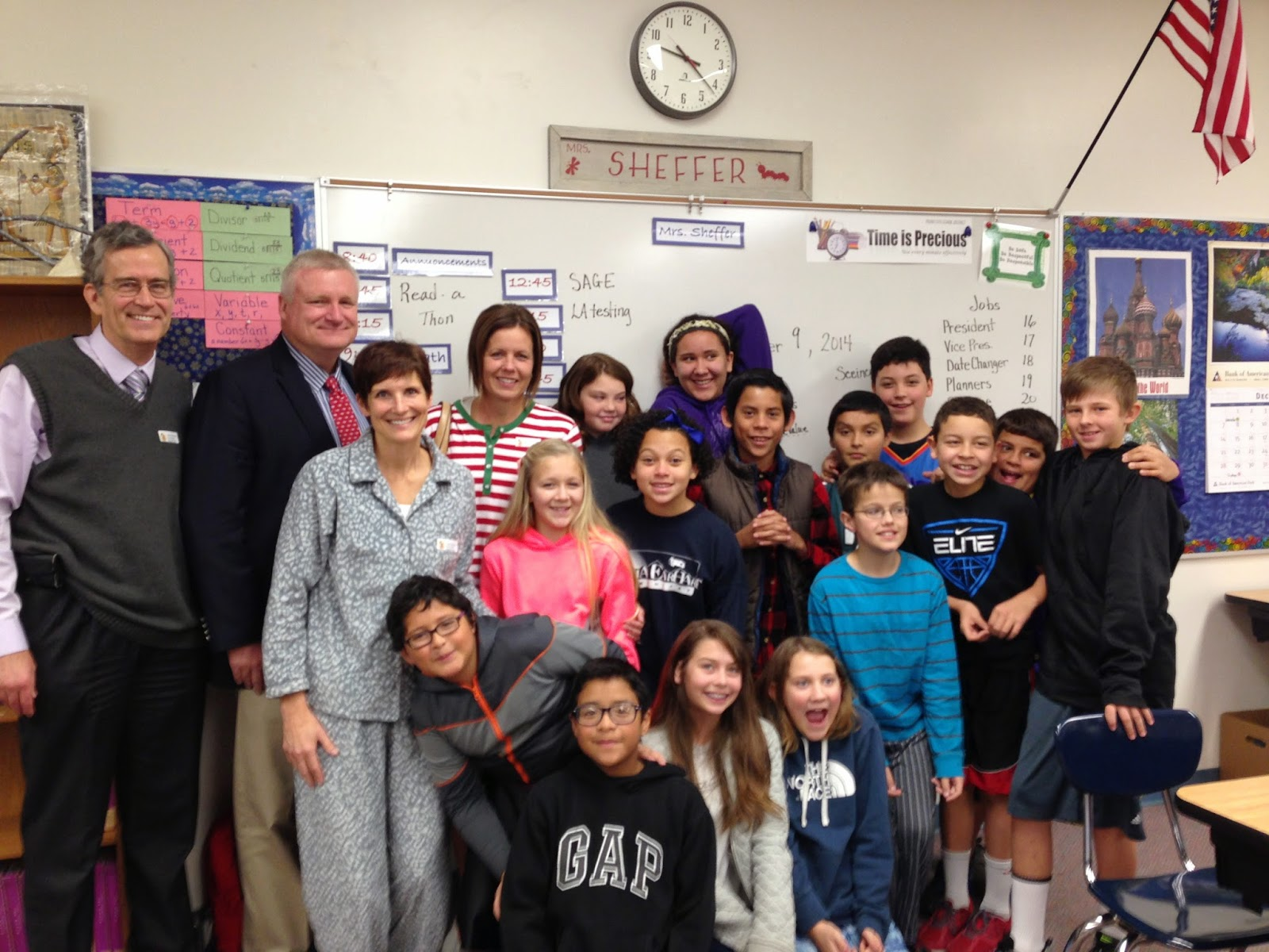Provo Council Members at Read-a-Thon