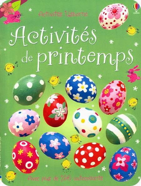 """""""Activités de printemps"""" éditions Usborne"""