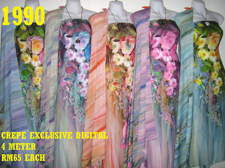 CP 1990: CREPE EXCLUSIVE DIGITAL PRINTED, 4 METER