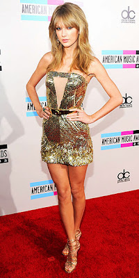 Taylor Swift, American Music Awards, red carpet, fashion