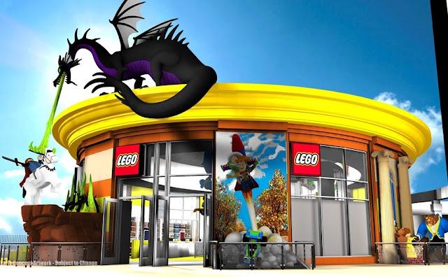 Downtown Disney Lego Store
