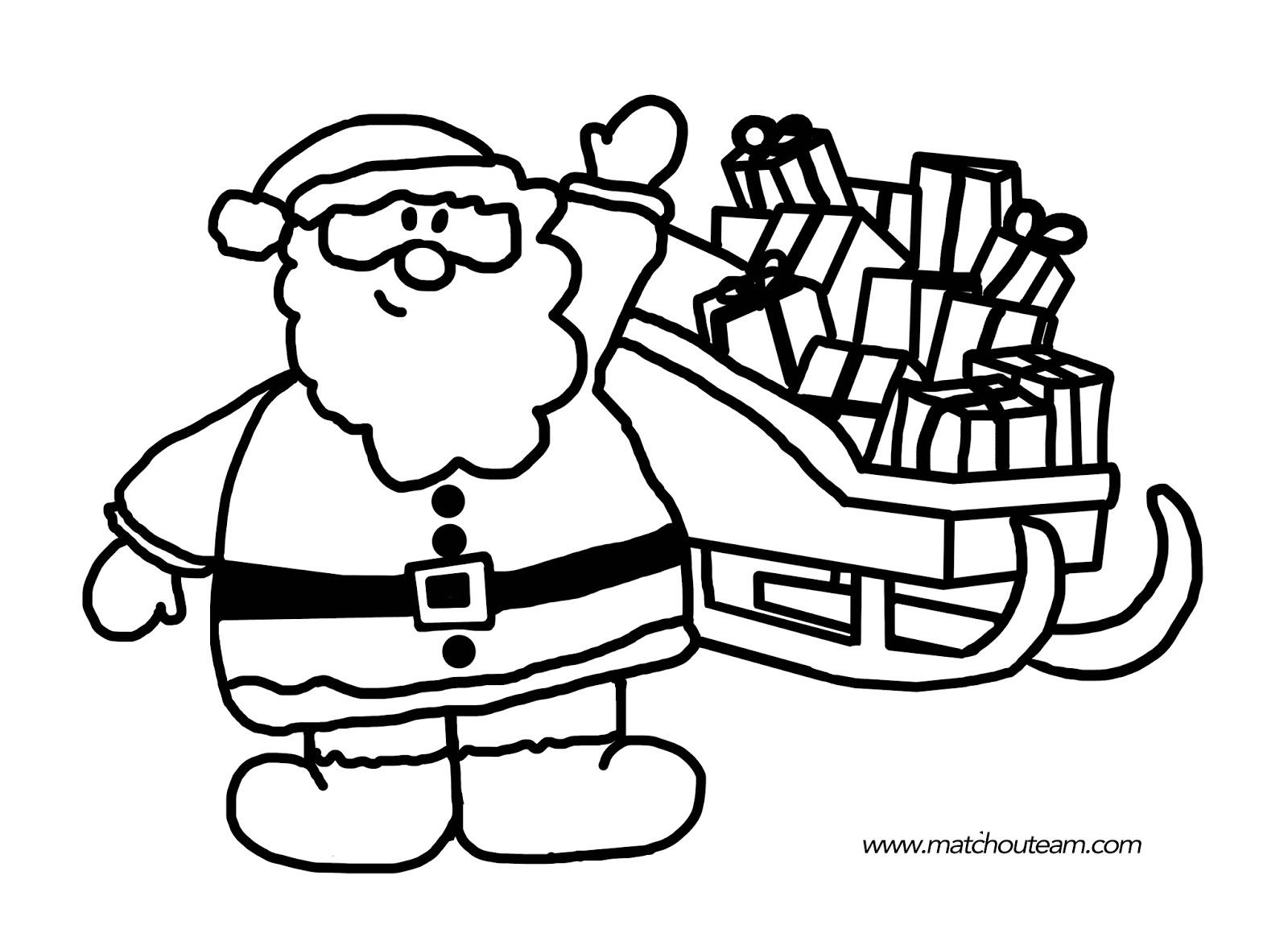 Exceptionnel Ma Tchou team: Coloriages et jeux pour Noël IU73