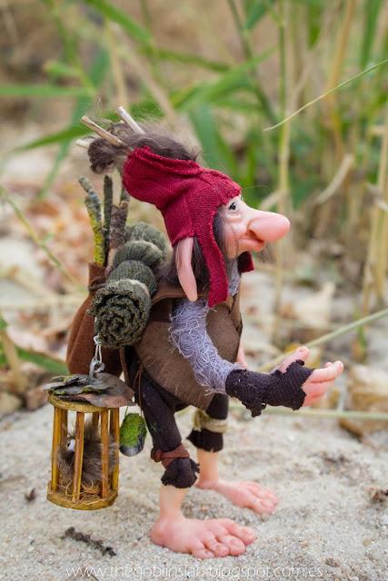 ooak fantasy creature goblin pathfinder