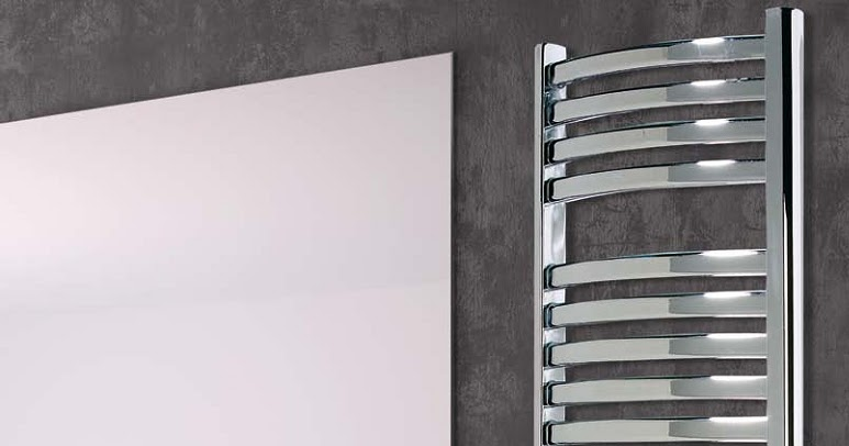 Radiador toallero el ctrico para el ba o reformas guaita for Toallero para ducha