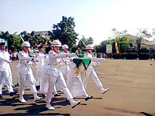 Pengibaran Bendera Merah Putih Kabupaten Karawang