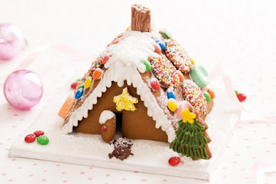 Mini gingerbread houses Recipe
