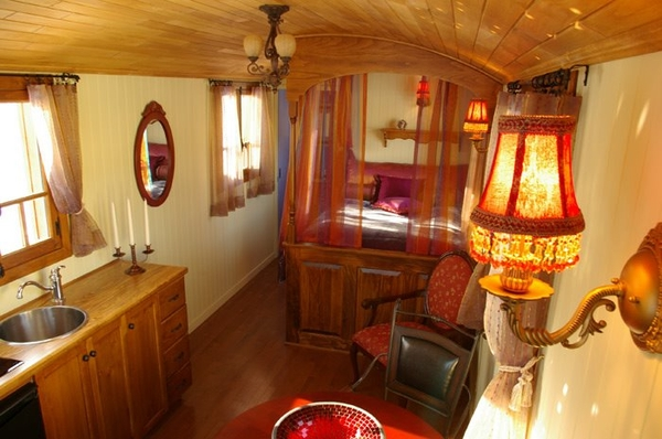 Beautiful Interior Of Gypsy Caravan By Keithkgj  Gypsy Travelers And Bohemian