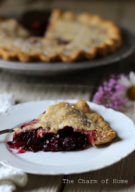 Blackberry Lime Pie: The Charm of Home