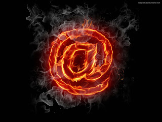 Email Logo HD Wallpaper