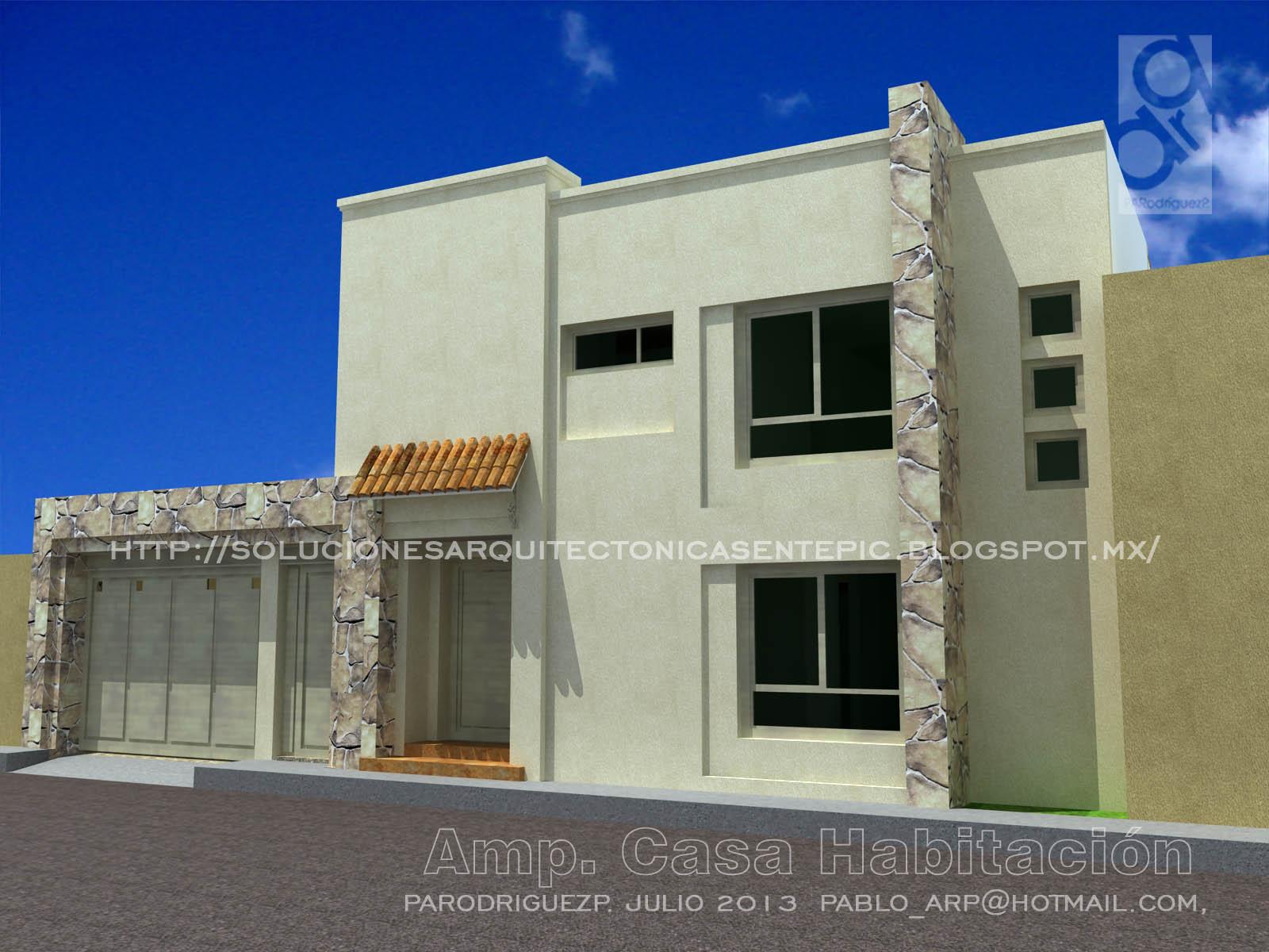 Soluciones arquitectonicas adecuando casa a las nuevas for Casas actuales modernas