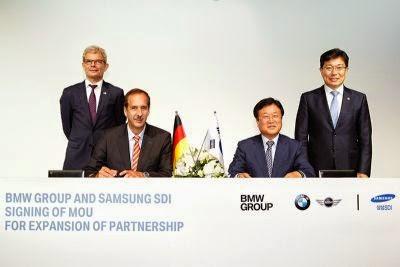 Parteneriat Samsung SDI