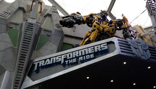 Transformers The Ride 3D Parque Universal Orlando