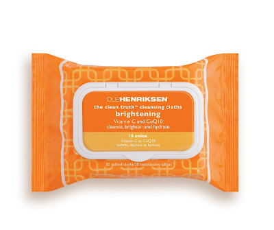 Ole Henriksen, Ole Henriksen The Clean Truth Brightening Cleansing Cloths, cleansing wipes, cleanser, skin, skincare, skin care, Halloween makeup, makeup remover, cleansing cloths
