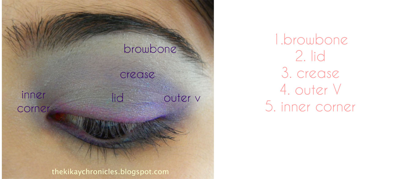 The ChinChin Chronicles: Make Up 101: Anatomy of the Eye