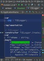 Маркеры кода в I-Pascal