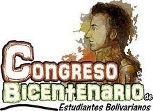 1 er Congreso Bicentenario de Estudiantes Bolivarianos