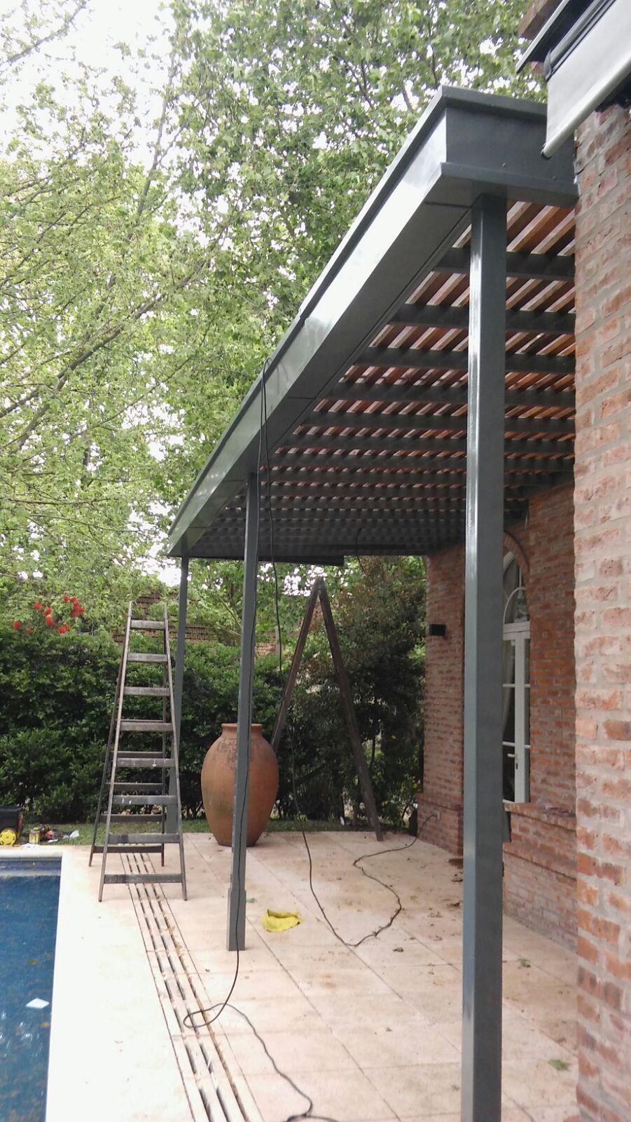 Techo de policarbonato pergolas aleros octubre 2015 - Tipos de porches ...