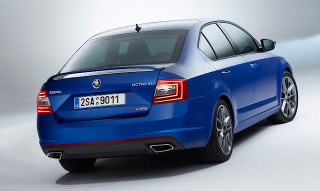 New Stunning Sedan Car Skoda Octavia vRS 2015