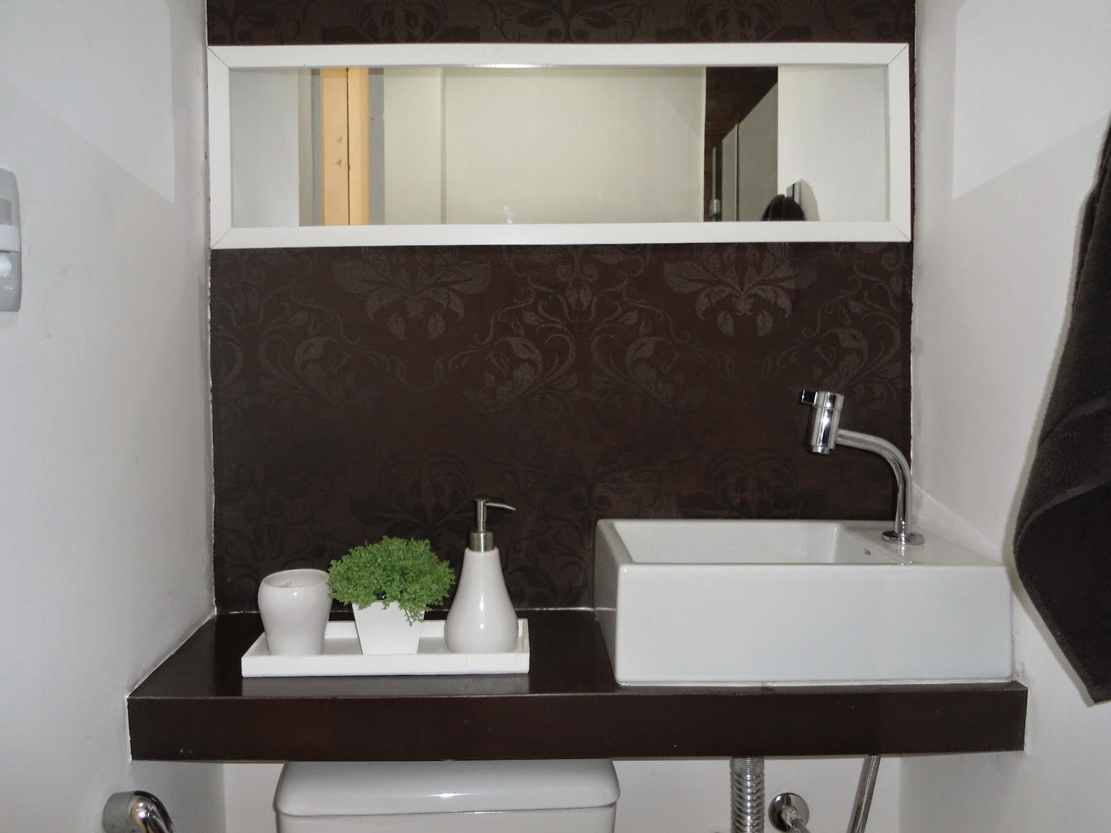 Nosso 1º apê: Banheiro social ou quase lavabo #496130 1600 1200