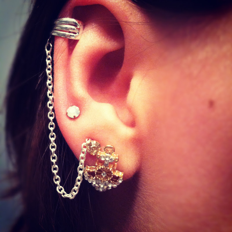 Ear Cuff Jewellery For College Girls Fashion 2013 title=