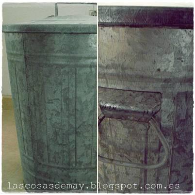 Las cosas de may d i y cubo vintage - Cubo metalico ikea ...