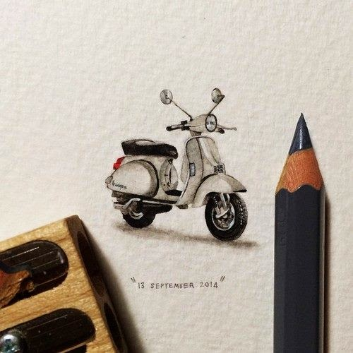 24-Vespa-Lorraine-Loots-Miniature-Paintings-Commemorating-Special-Occasions-www-designstack-co