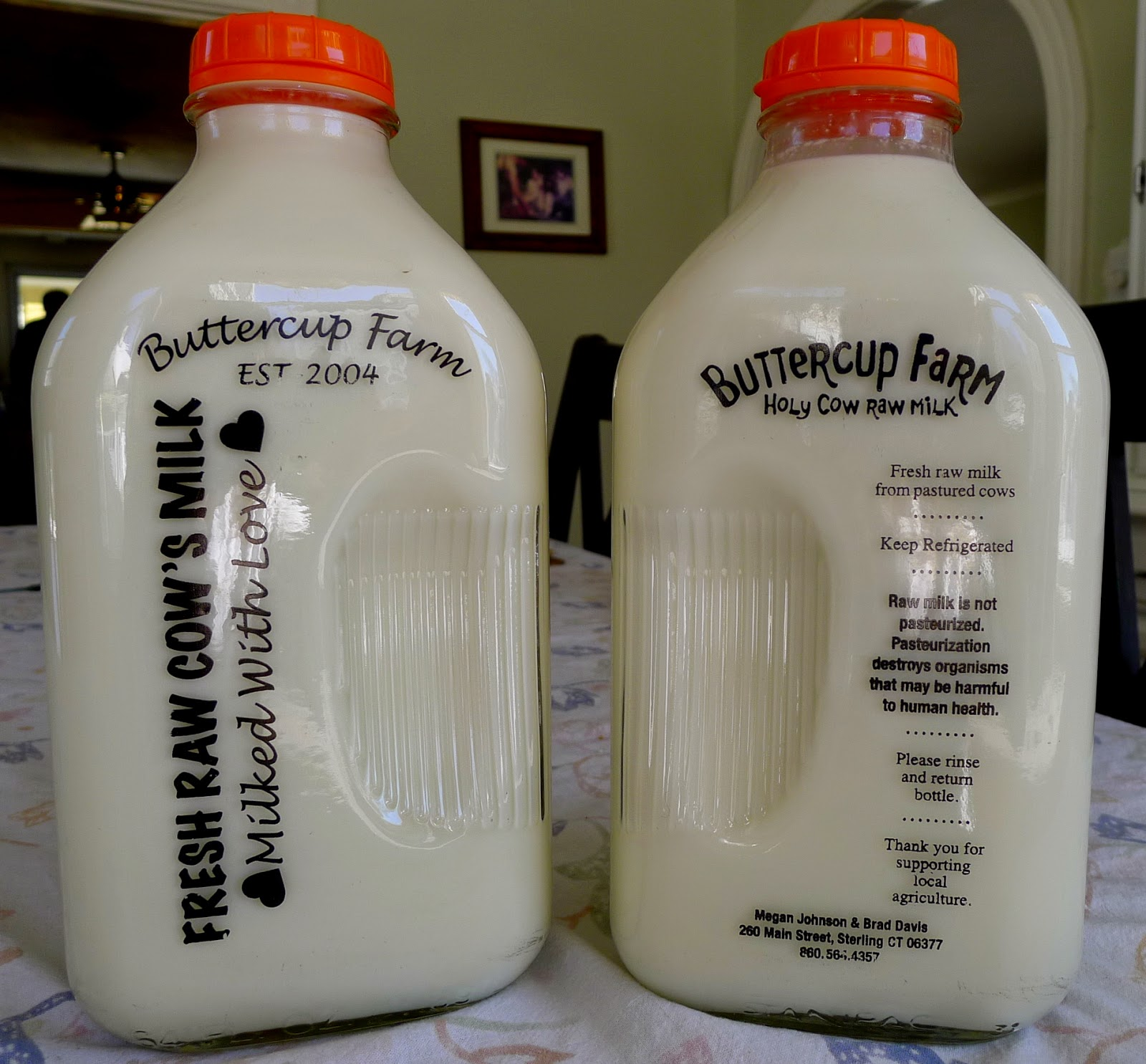 February Garden and Kitchen  Tasks, using raw milk