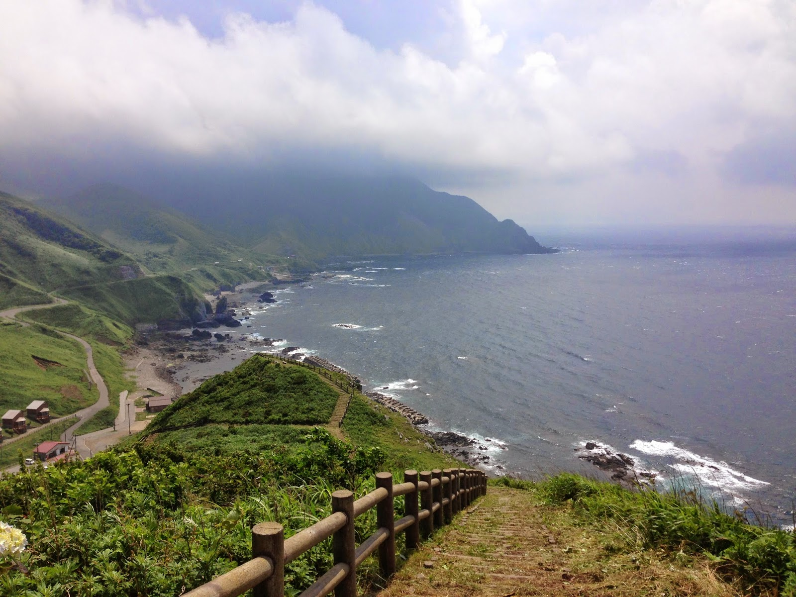aomori coastline, cycling aomori
