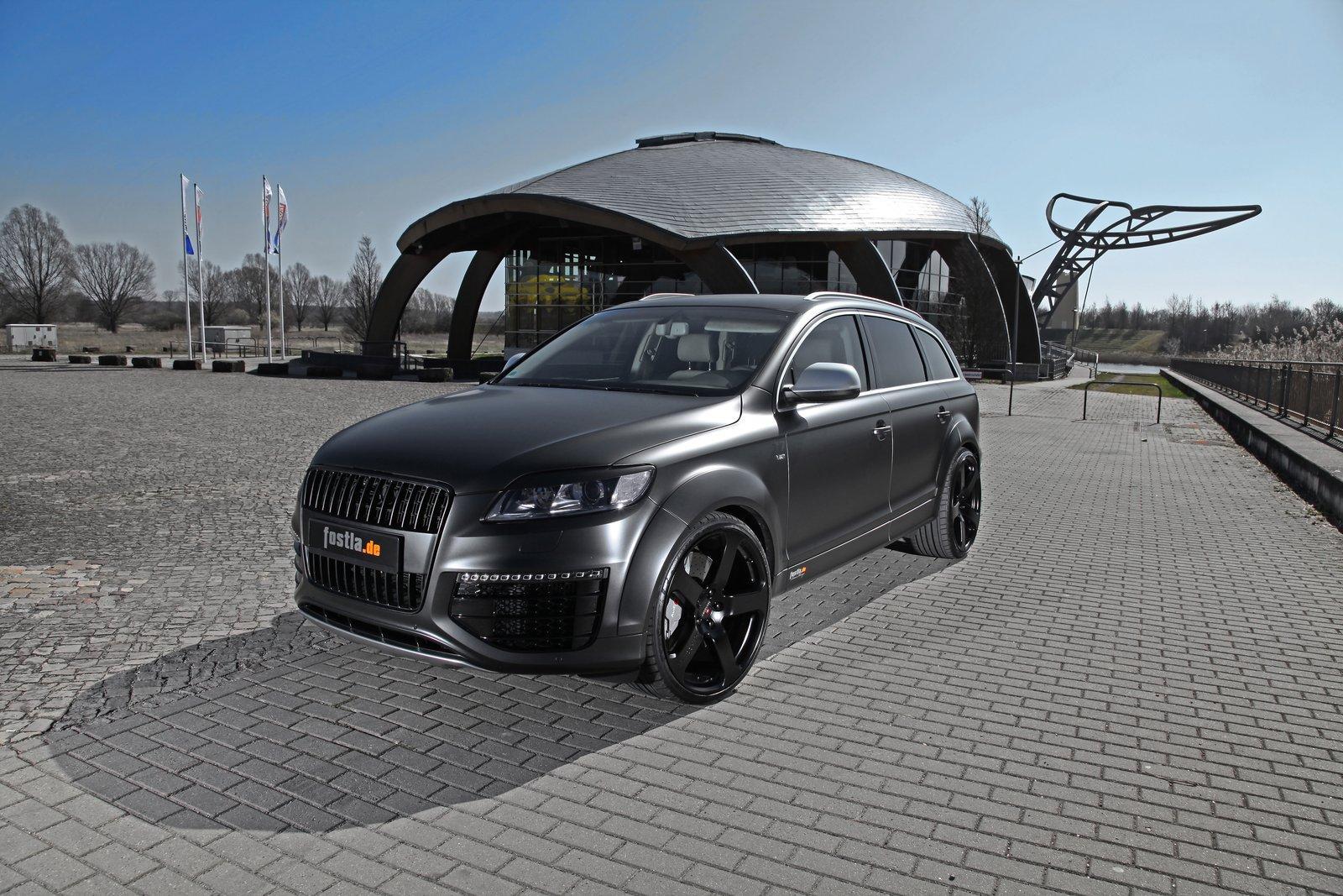 audi q7 v12 tdi by fostla car tuning styling. Black Bedroom Furniture Sets. Home Design Ideas
