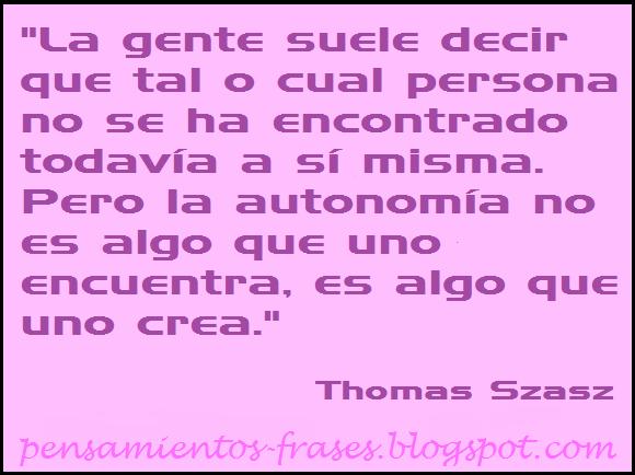 frases de Thomas Szasz