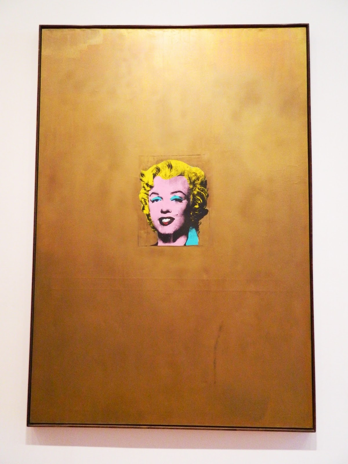 Andy Warhol, Gold Marilyn Monroe silk screen