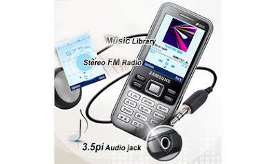 Multimedia Samsung C3322: Radio FM, Video/Audio Player